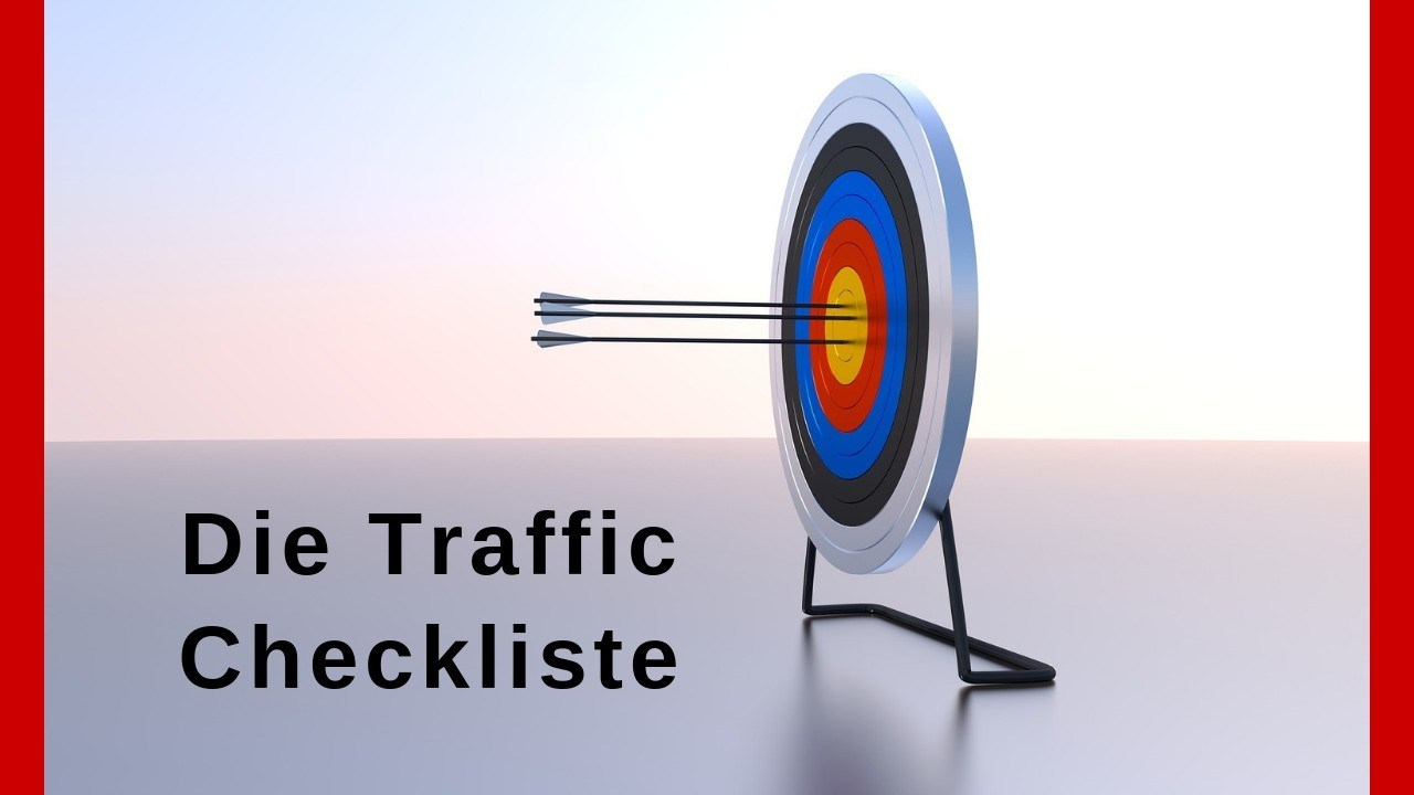 Die Traffic Checkliste