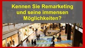 Wenn Sie im Internet möglichst viele zahlende Kunden akquirieren wollen, dann müssen Sie das Thema Remarketing unbedingt beherrschen...