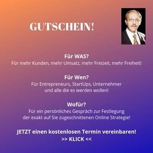 Gutschein für Ihren Erfolg www.onlineerfolg.jetzt/gespraech